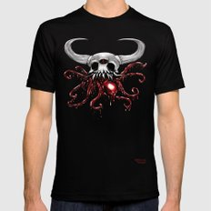 Bloody Skull Mens Fitted Tee Black 2X-LARGE
