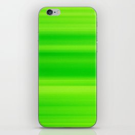 Green abstract background blur motion iPhone Skin