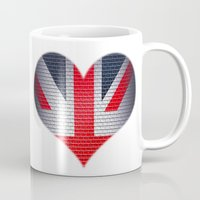 british Mugs featuring British Heart by Andy Readman @ AR2