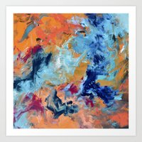 The Colour of Sound No. 1 Art Print
