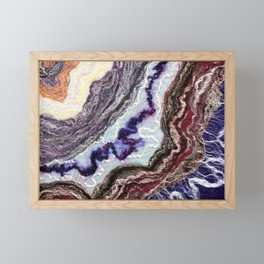 Flow II - FELT Expressions Framed Mini Art Print