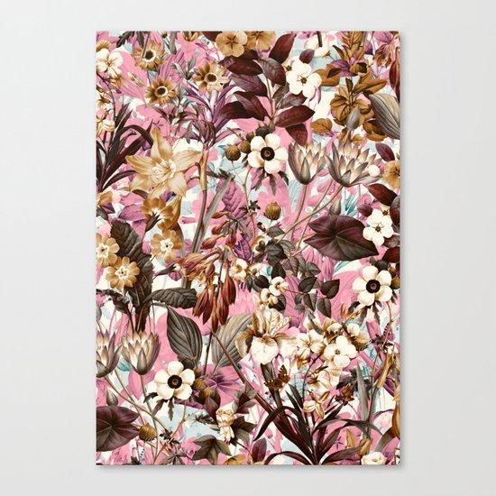 Natural Summer Pattern Canvas Print