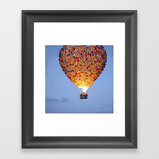 ballons home Framed Art Print