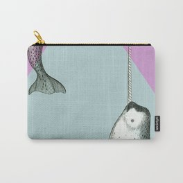 Narwhal Geometric Bright and Colorful Carry-All Pouch