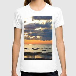 Textures Clouds over the Sea T-shirt