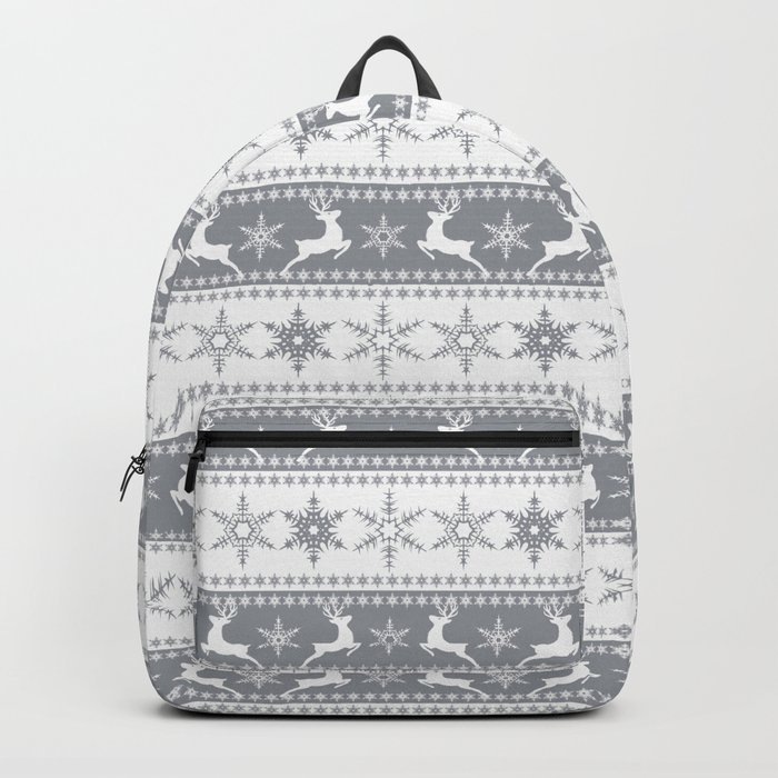 Christmas pattern . Backpack