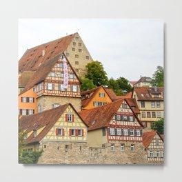 Traditional medieval German houses Metal Print