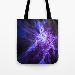 Real Purple Fire Tote Bag