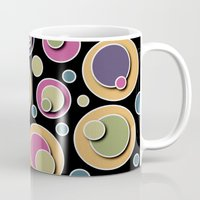 dots Mugs featuring Dots by Shelly Bremmer