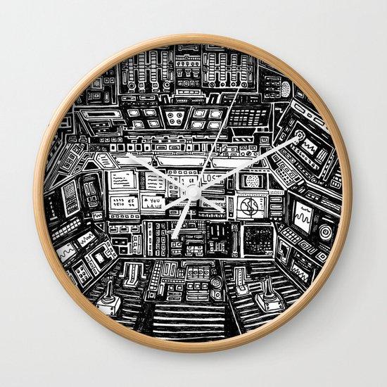 Lost cabin 666 Wall Clock