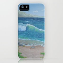 Waves on the ocean iPhone Case
