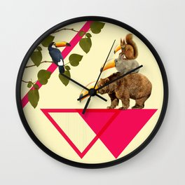 everybody would love to be a toucan  Wall Clock