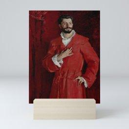 """John Singer Sargent """"Dr. Pozzi at Home"""" Mini Art Print"""