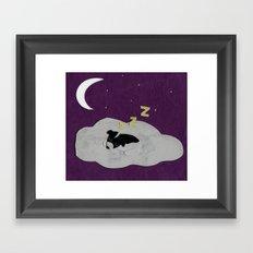 Goodnight, Doogie Framed Art Print