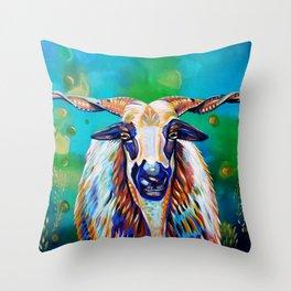 Portuguese beauty Throw Pillow