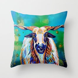 Portuguese beauty Throw Pillow