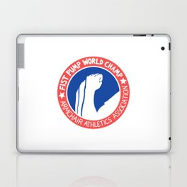 Fist Pump World Champ Laptop & iPad Skin