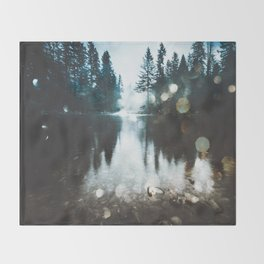 Dreaming of PNW Throw Blanket