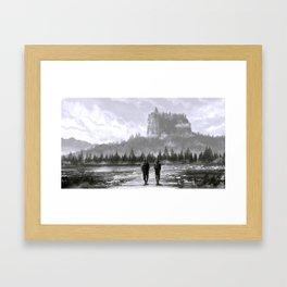 Wasteland Framed Art Print