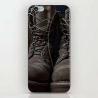 military iPhone & iPod Skins featuring Military Mark by Katelyn King