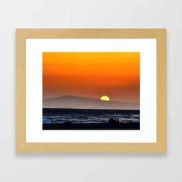 Catalina's Burst Framed Art Print
