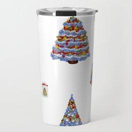 Merry Christmas Cape Cod Travel Mug