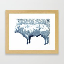 Cow 01 Framed Art Print