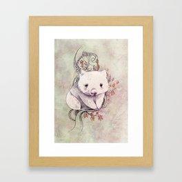 Wombat! Framed Art Print