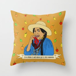 La India Maria Throw Pillow