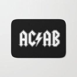 ACAB # BLACK & WHITE Bath Mat