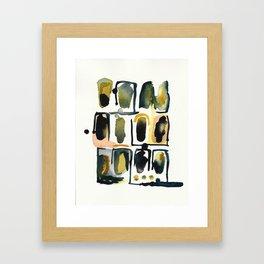 watercolor 57 Framed Art Print