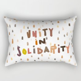 Unity in Solidarity Rectangular Pillow