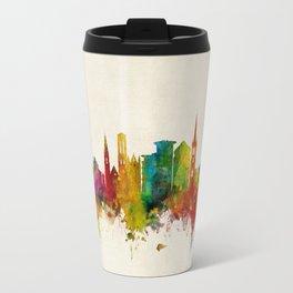 Bournemouth England Skyline Travel Mug