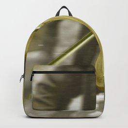 Golden Violin Backpack