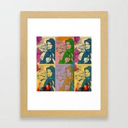 Charlie's Angels Pop Art Framed Art Print