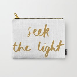 Seek the Light Carry-All Pouch