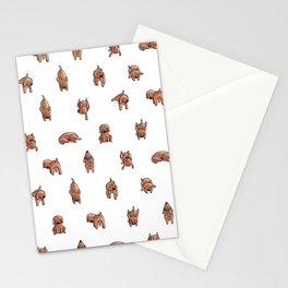 Wooferland: Wooferdog pattern Stationery Cards