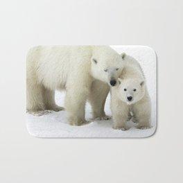 Mother and Cub Bath Mat