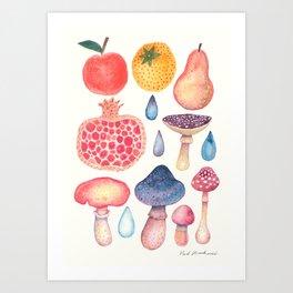 Fruits of the Woods Art Print