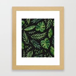 Tropical Summer 005 Framed Art Print