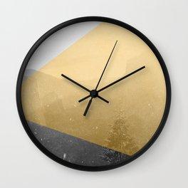 NEON NATURE | Orange Wall Clock