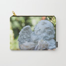 Dreaming angel in the garden Carry-All Pouch