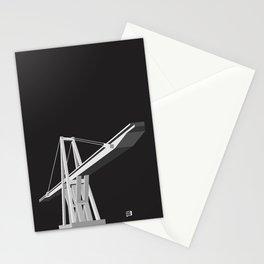 Maracaibo Lake Bridge BLACK Stationery Cards