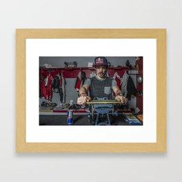 Charles Hamelin, Olympic Champion, Official Lifestyle Framed Art Print