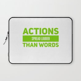 Don't Be A Mouthful Laptop Sleeve