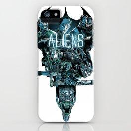 Aliens Illustration Tribute iPhone Case
