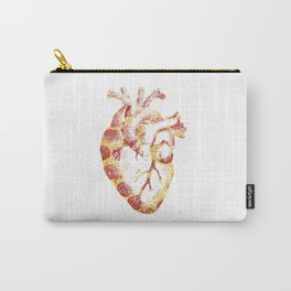 My Heart Beats Pizza Carry-All Pouch
