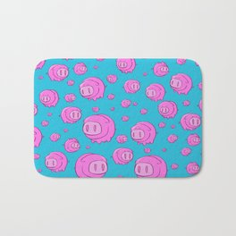 When Pigs Fly, Or Float! Bath Mat