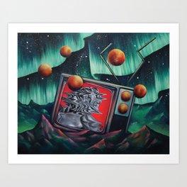 Locoon's Nightmare Art Print