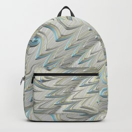 Blue Lace Fractal Art Backpack
